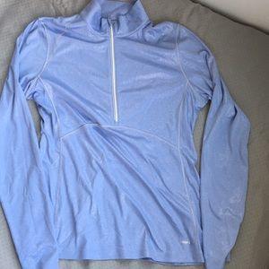 Athletic half-zip pullover